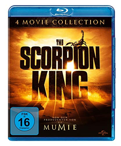 Blu-ray - The Scorpion King (4 Movie Collection)