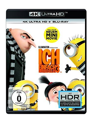 Blu-ray - Ich - Einfach unverbesserlich 3 (4K Ultra HD) (+ Blu-ray 2D)