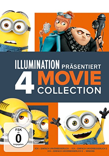 DVD - Minions - 4 Movie Collection