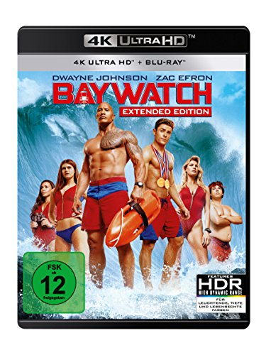 Blu-ray - Baywatch Ultra HD (  Blu-ray) (Extended Edition)