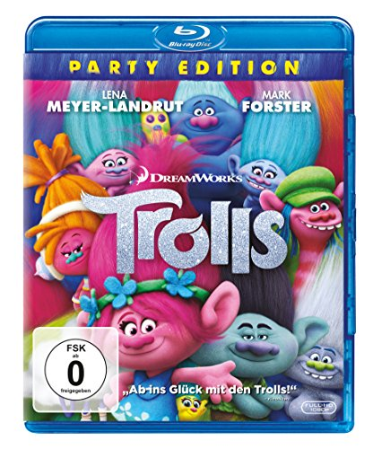 Blu-ray - Trolls - Party Edition [Blu-ray]