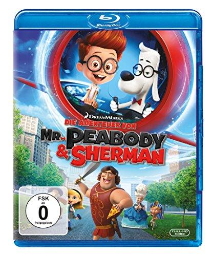 Blu-ray - Die Abenteuer von Mr. Peabody & Sherman (DreamWorks)