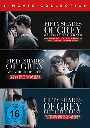 DVD - Fifty Shades - 3 Movie Collection [3 DVDs]