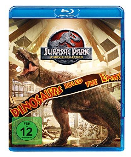 Blu-ray - Jurassic Park 1-3 + Jurassic World 1 [Blu-ray]