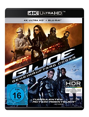 Blu-ray - G.I. Joe - Geheimauftrag Cobra Ultra HD (  Blu-ray)