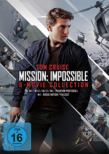 DVD - Mission: Impossible - 6-Movie Collection