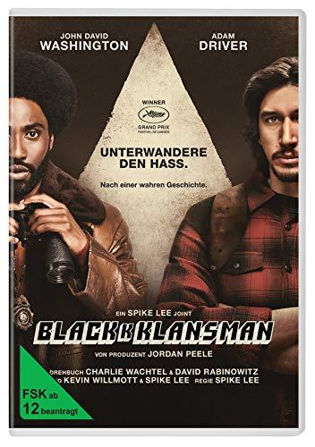 DVD - BLACKkKLANSMAN