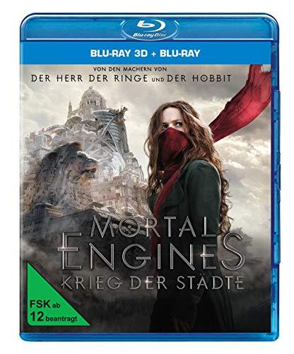 Blu-ray - Mortal Engines: Krieg der Städte 3D (  Blu-ray)