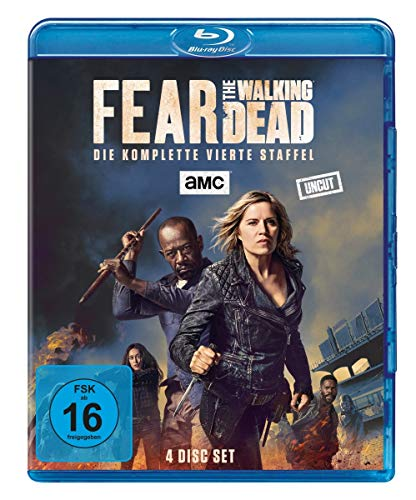 Blu-ray - Fear The Walking Dead - Staffel 4 (Uncut)