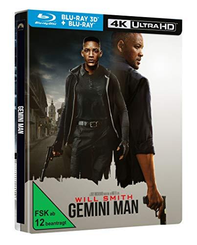 - Gemini Man limitiertes Steelbook (3D Blu-ray, 4K UHD, DVD)