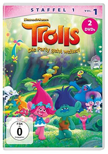 DVD - Trolls - Die Party geht weiter! - Staffel 1.1