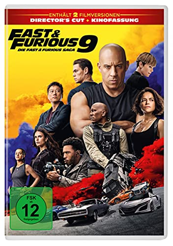 DVD - Fast & Furious 9 (Director's Cut   Kinofassung)