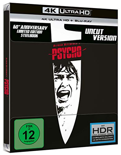 Blu-ray - Psycho Ultra HD (  Blu-ray)