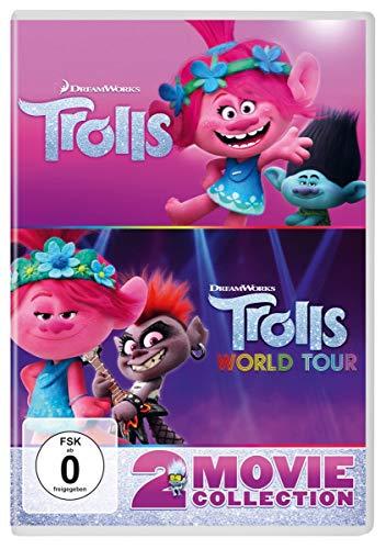 DVD - Trolls / Trolls: World Tour (2 Movie Collection)