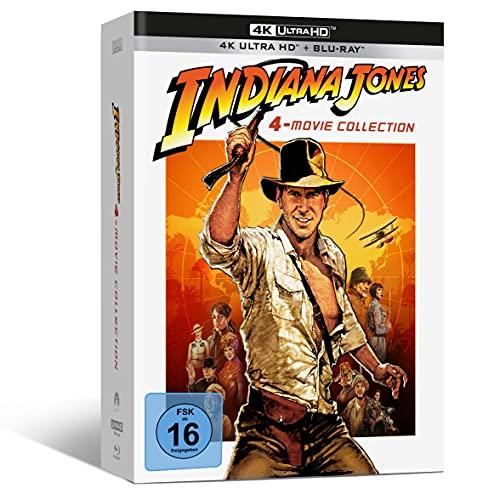 Blu-ray - Indiana Jones – 4-Movie Collection - limited Edition (4K UHD) [Blu-ray]