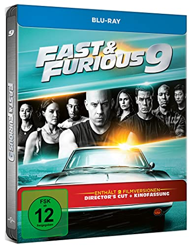 Blu-ray - Fast & Furious 9 (Limited Steelbook Edition)