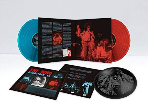 the Who - Woodstock '69 (Deluxe Coloured 2lp-Set+Etching) [Vinyl LP]