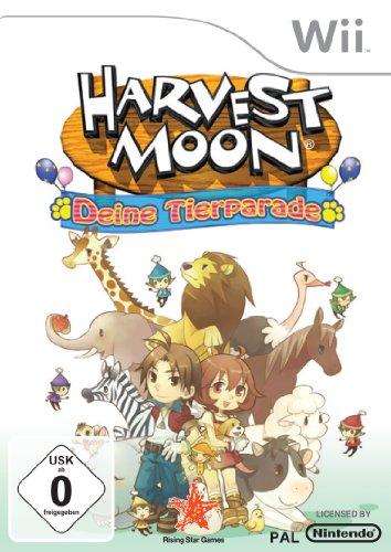Nintendo Wii - Harvest Moon: Deine Tierparade