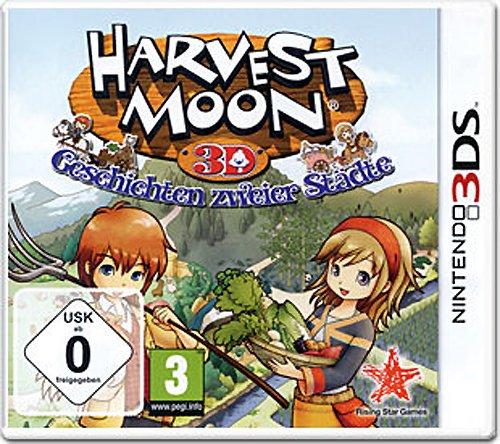 Nintendo 3DS - Harvest Moon 3D: Geschichten zweier Städte