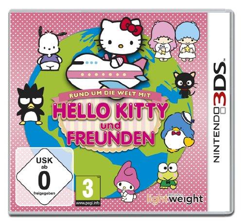 Nintendo 3DS - Hello Kitty und Freunde - Rund um die Welt