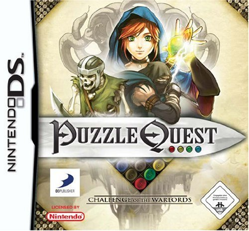 Nintendo DS - Puzzle Quest - Challenge Of The Warlords
