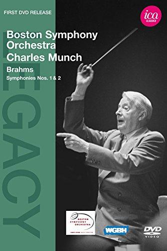 Munch , Charles & Boston Symphony Orchestra - Brahms: Symphonies N°1 Et N°2