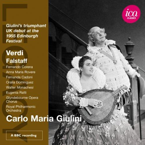 Verdi , Giuseppe - Falstaff (GA) (1955 Edinburgh Festival) (Giulini, Corena, Rovere))