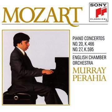 Mozart , Wolfgang Amadeus - Piano Concerto No. 20, K.466 & No. 27, K.595 (Perahia)