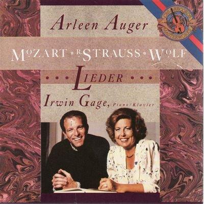 Auger , Arleen - Mozart / Strauss / Wolf: Lieder (Gage)