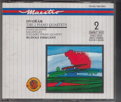Dvorak , Antonin - The 2 Piano Quartets / Piano Quintet / Bagatelles (Firkusny, Juilliard String Quartet)