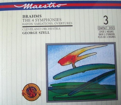 Brahms , Johannes - The 4 Symphonies (Clevland Orchestra, George Szell)