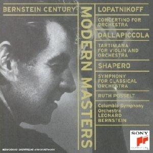 Bernstein , Leonard - Modern Masters