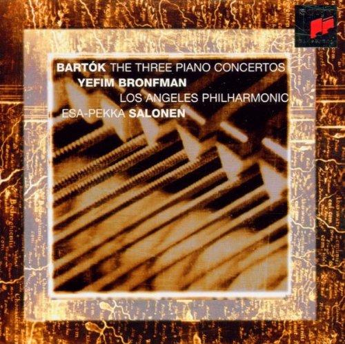 Bartok , Bela - The Three Piano Concertos (Bronfman, Salonen, LAP)