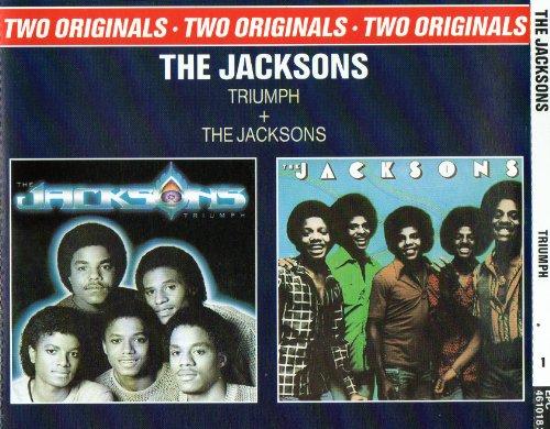 Jacksons , The - Triumph   The Jacksons (Two Originals)