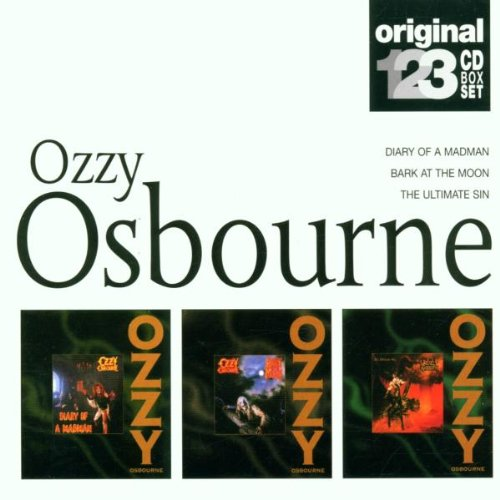 Osbourne , Ozzy - Diary Of A Madman / Bark At The Moon / The Ultimate Sin (Original 123 CD BOX SET)