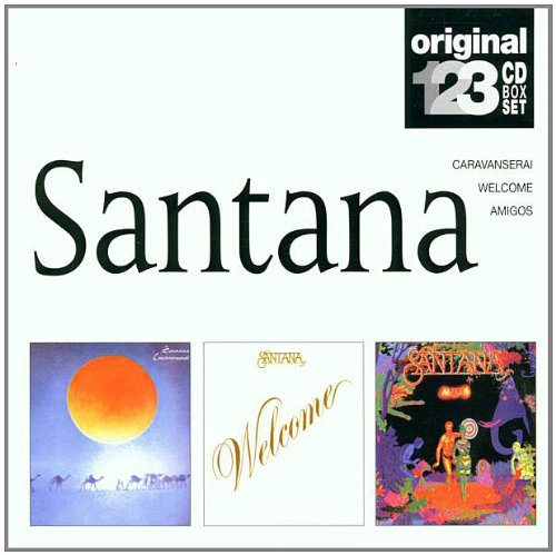 Santana - Caravanserai / Welcome / Amigos (Original 3 CD BOX SET)
