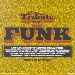 Sampler - Tribute to the Funk (mixed by DJ Mum's)