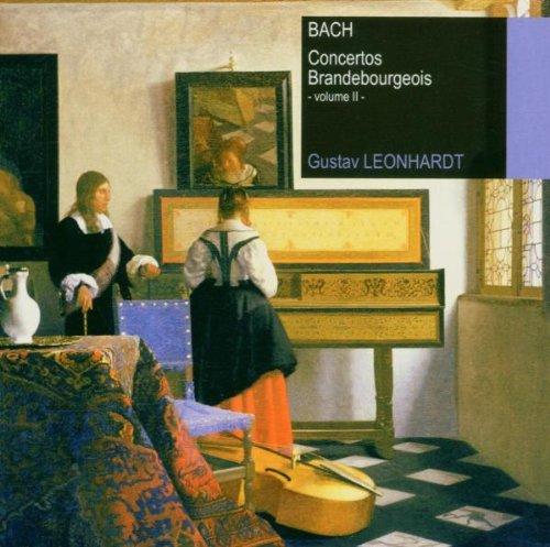 Bach , Johann Sebastian - Concertos Brandenboureois 2 (Leonhardt)