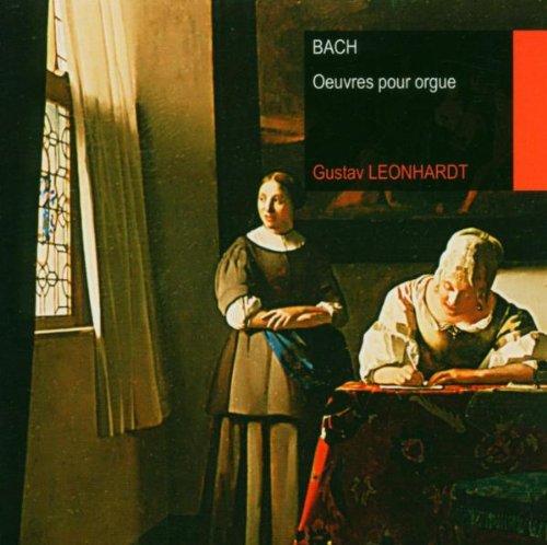 Bach , Johann Sebastian - Oeuvres Pour Orgue (Leonhardt)