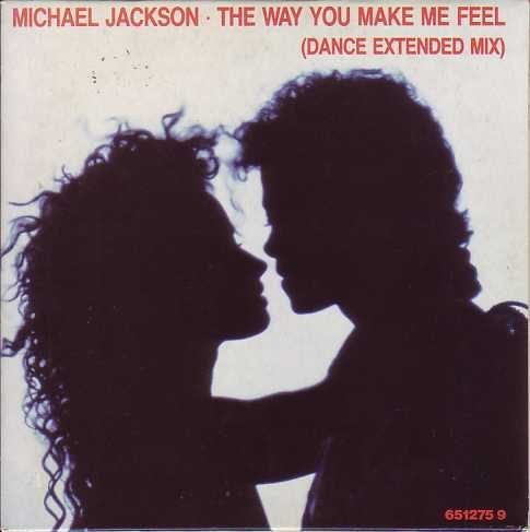 Jackson , Michael - The Way You Make Me Feel (Dance Extended Mix) (Maxi)