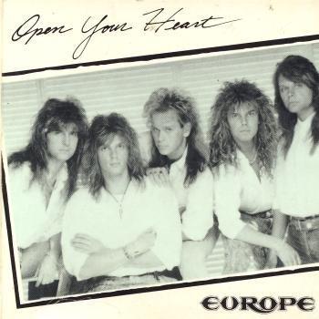 Europe - Open Your Heart (Maxi)