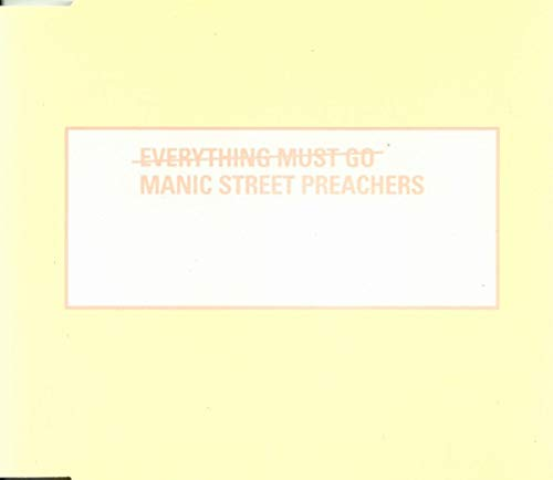 Manic Street Preachers - Everything must go (Maxi)