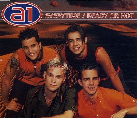 A1 - Everytime / Ready or not (Maxi)
