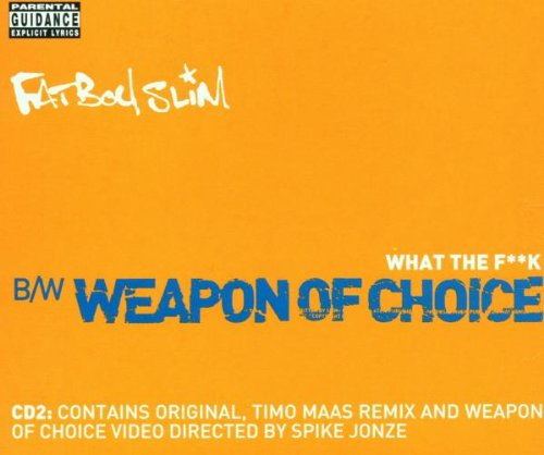 Fatboy Slim - Star 69 / Weapon of Choice (Maxi)