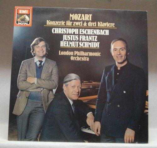Mozart , Wolfgang Amadeus - Konzerte für zwei & drei Klaviere (Eschenbach, Frantz, Schmidt) (Vinyl)