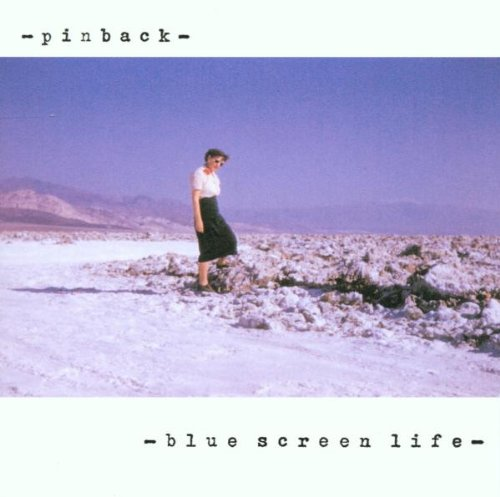 Pinback - Blue screen live (UK-Import)