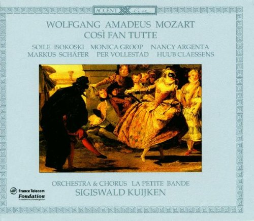 Mozart , Wolfgang Amadeus - Cosi fan tutte (Kuijken)