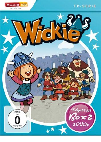 DVD - Wickie und die starken Männer - Box 2 (Folge 21 - 39) (3 DVD SET)