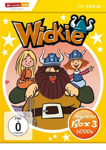DVD - Wickie und die starken Männer - Box 3 (Folge 40 - 59) (3 DVD SET)