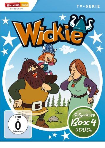 DVD - Wickie und die starken Männer - Box 4 (Folge 60 - 78) (3 DVD SET)